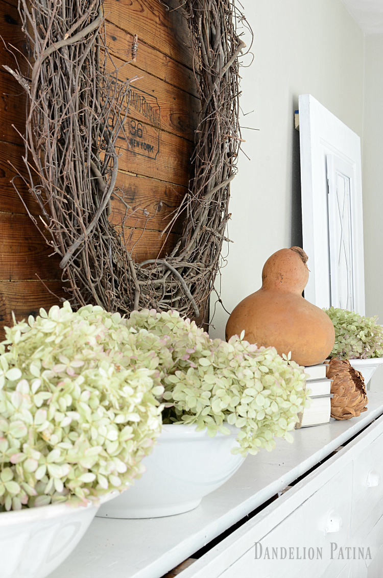 farmhouse fall home tour with neutral farmhouse style elements