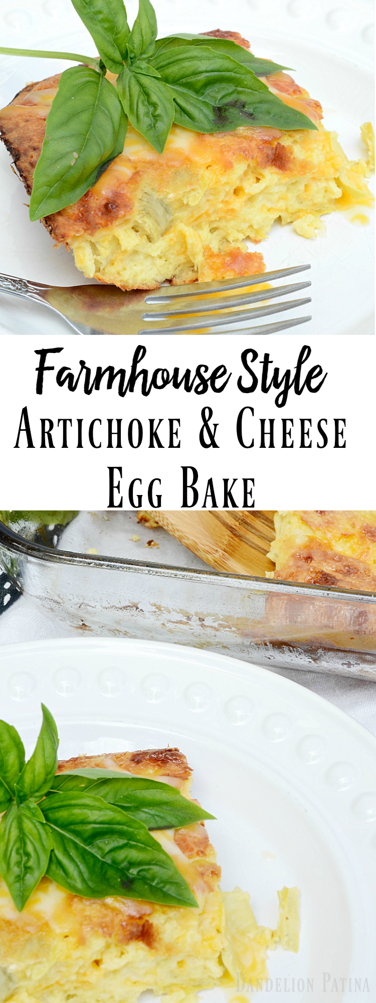 farmhouse style artichoke egg bake recipe