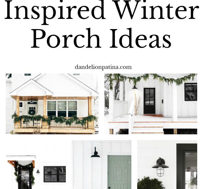 9 Scandinavian Inspired Winter Porch Ideas